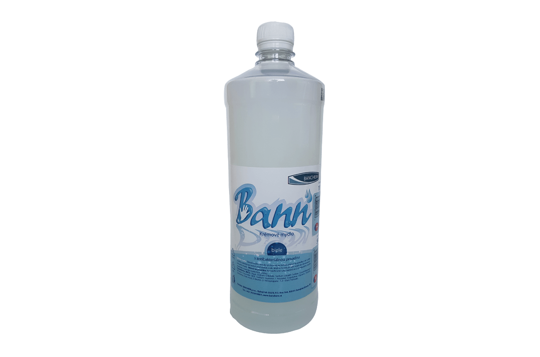 Săpun lichid Bann cu aditiv antibacterian 1l