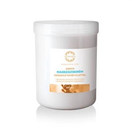 Cremă pentru masaj universal cu aromă de portocală și scorțișoară 1000ml