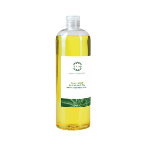 Konopný rastlinný masážny olej 1000ml