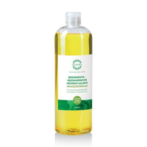 Ulei de masaj vegetal mentă-rozmarin 1000ml