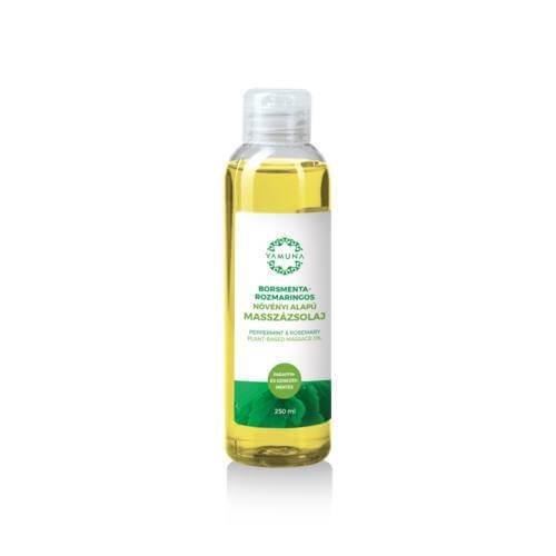 Ulei de masaj vegetal mentă-rozmarin 250ml