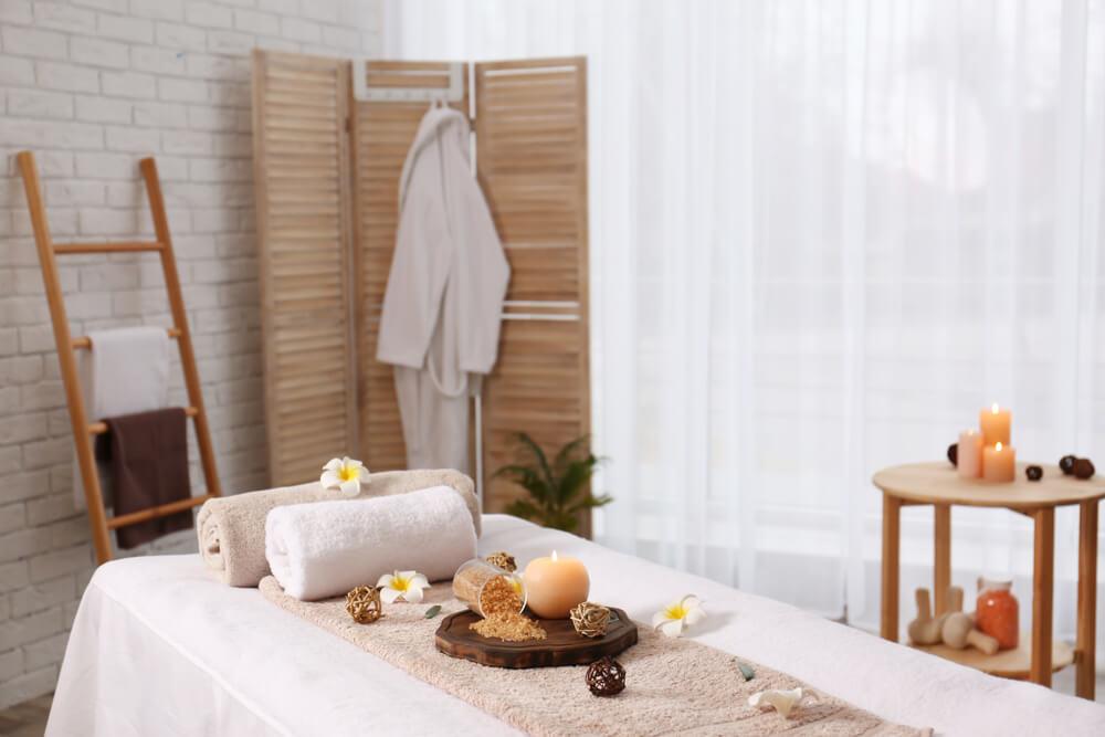 Echipament pentru salonul de masaj