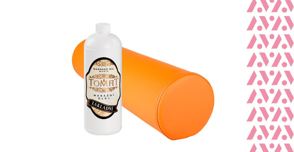 Ulei de masaj Tomfit și cilindru pentru sprijinul picioarelor
