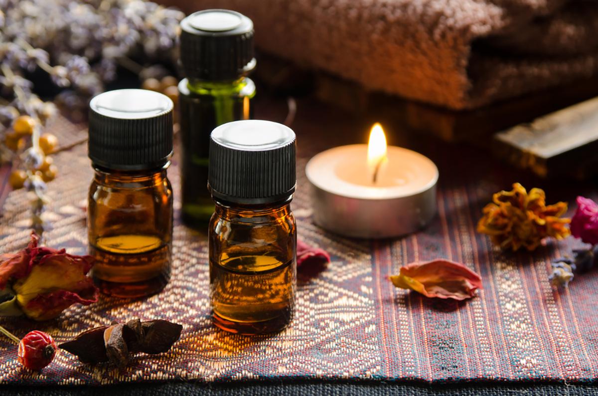 Aroma plăcută este parte integrantă a salonului de masaj